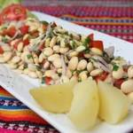receta de ceviche de tarwi