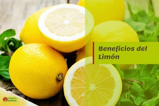 beneficios limon propiedades