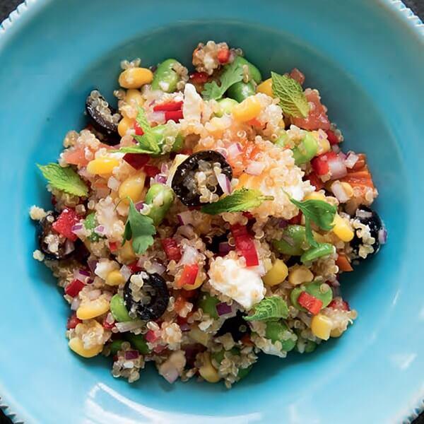 Solterito de quinoa 1