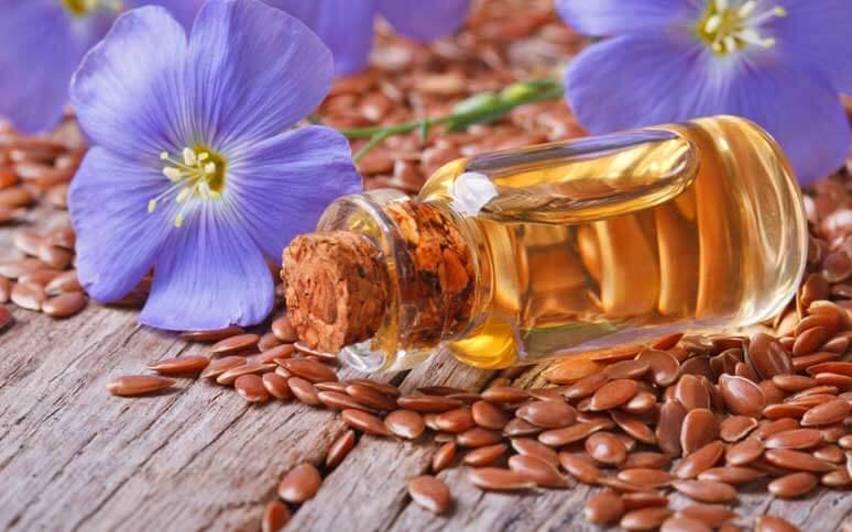Aceite- semillas de linaza flax seeds