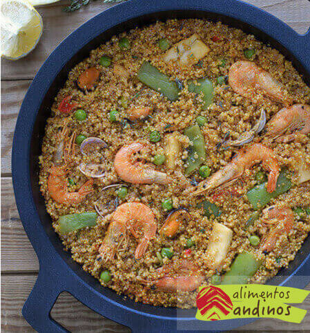 Paella de quinoa img