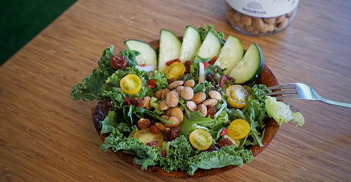 Ensadala sacha inchi salad