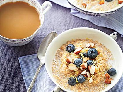 porridge de camu camu con quinoa